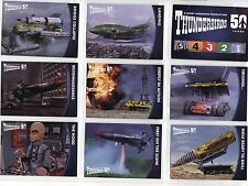 THUNDERBIRDS 50 YEARS -  BASE SET 54 CARDS - UNSTOPPABLE CARDS - GERRY ANDERSON