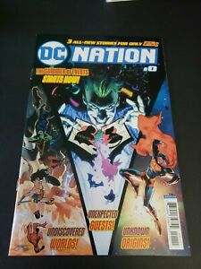 DC NATION #0 (2018) DC COMICS SUMMER SPECIAL! JOKER! SUPERMAN! WONDER WOMAN! NM