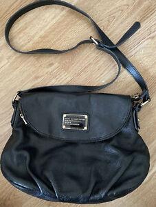 Genuine marc jacobs black leather bag