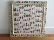 Pinboard. Ornate shabby chic/Russian doll