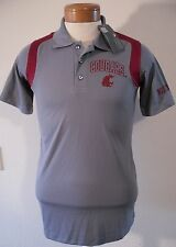 NWT Knights Apparel WSU Cougars NCAA Mens Sideline Polo Shirt S Grey MSRP$40