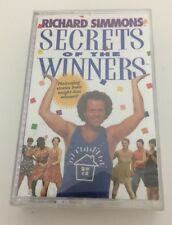Secrets Of The Winners By Richard Simmons On Audio Cassette Brand New