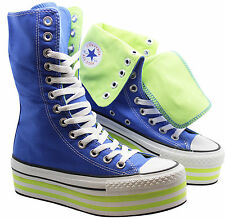Hi Top, Trainer Boots Canvas Lace Up Shoes for Women