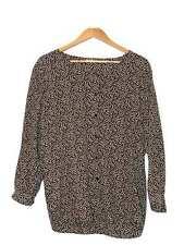 Designer Giorgio Armani Size 8 (40 IT) Silk Print VTG Women's Shirt