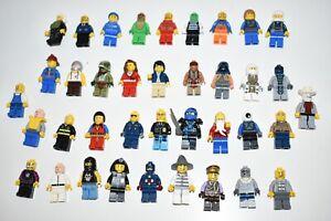 Lego Minifigures Job Lot Bundle 38 Random Star Wars Captain America Ninjago Toys