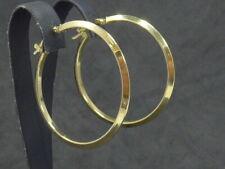Ohrringe earrings 925 Sterling SILBER Creolen Kreolen Orecchino silver vergoldet