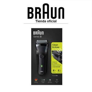 Afeitadora Eléctrica Recargable, Máquina de Afeitar Braun Series 3 300 s, Negro