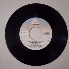 V9> 45 giri - Deja-vu / I'll never love this way again - Dionne Warwick