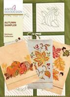 Autumn Sampler Anita Goodesign Embroidery Machine Design CD NEW 128AGHD