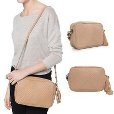 Fashion Women Hobo Leather Messenger Crossbody Shoulder Bag Purse Handbag Tote