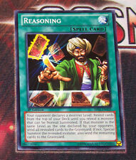 Yu-Gi-Oh YGO BP02-EN139 Reasoning Common 1st edition Mint