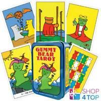 GUMMY BEAR TAROT CARDS DECK INSPIRATIONAL DIETMAR BITTRICH US GAMES SYSTEMS NEW