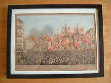 Künstlerische im Biedermeier-Kunststil mit Aquarell-Technik von 1800-1899
