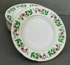 NEW Gibson HOLIDAY CHARM Salad or Sandwich Plate