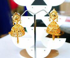 kapa gold plated EARRINGS - Indian KUNDAL JUMKA DROP EARRINGS H3