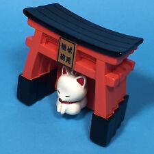 F/S Fushimi Inari Shrine Torii Moving White Fox Kitchen Magnet Kyoto Japan