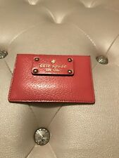 Authentic Kate Spade Wellesley Graham Flamingo Leather Card Case $48