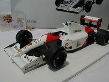 True Scale 141818R # McLaren Honda MP4/6 Gerhard Berger Winner GP Japan 1:18