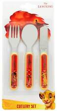 Disney The Lion King 3-Piece Cutlery Set | Knife, Fork and Spoon