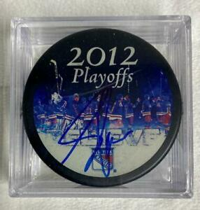 Adam Graves Signed Hockey Puck 05/09/12