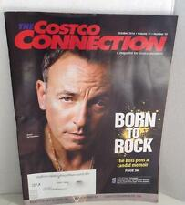 Bruce Springsteen Cover Story COSTCO CONNECTION MAGAZINE October 2016 Memoir