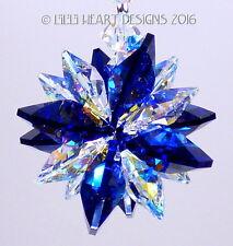m/w Swarovski Mini SUPER STAR COBALT Car Charm Suncatcher Lilli Heart Designs