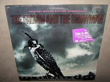 PAT METHENY GROUP The Falcon and Snowman RARE SEALED PROMO STAMP New Vinyl LP