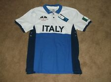 World Cup Polo Shirt - Italy - Blue/White - Mens Large