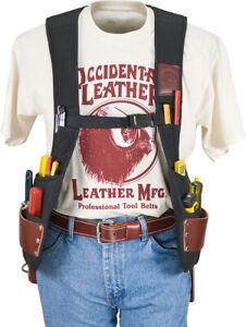 Occidental Leather 2500 Stronghold SuspendaVest Beltless Tool Belt MADE IN USA