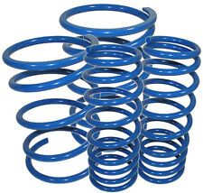 Fit-2009-2013-Genesis-Coupe-KDM-Racing-Suspension-Coil-Lowering-Springs-Blue  F