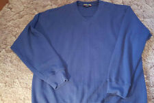Men's Pullover V Neck Knit Top Shirt Size Large Catalina Bay Cotton Blend India