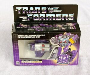 Vintage 1985 G1 Transformers Astrotrain Complete with Box