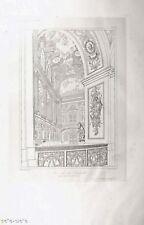 GAVARD. GALERIES HISTORIQUES DE VERSAILLES grand in-folio. VUE DE LA CHAPELLE
