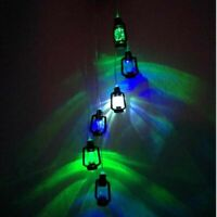 Novelty Hanging Solar Powered Color Changing LED Wind Chimes Lamp Garden Outdoor