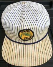 Vintage Concho Valley Arizona Patch Hat Cap Texace Corp USA Made Medium Striped