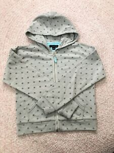 New Girl Tommy Hilfiger Dots Full Zip Jumper Size M(8-10)