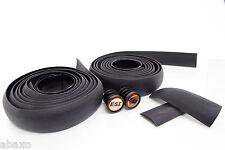 ESI RCT Wrap Black Silicon Handlebar Bar Tap Rewrap-able