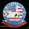 US AIR FORCE THUNDERBIRDS NELLIS AFB F-16 HAT PIN 2000
