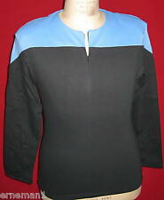 STAR TREK  Uniform Kostüm Voyager blau - Baumwolle- XL