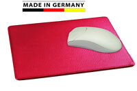 Handmade in Germany Mousepad Leder in 5 Farben excl. Marke EuroStyle