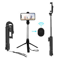 Selfie Stick Wireless Remote Tripod Holder Mount For iPhone 11 Pro/XS Max/SE 2