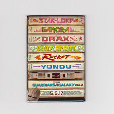 GUARDIANS OF THE GALAXY VOL. 2 / TAPES - MINI POSTER MAGNET (marvel print toy)