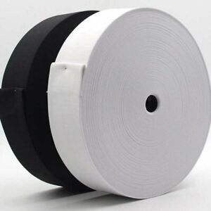 20  METER TOP QUALITY FLAT WOVEN ELASTIC WAISTBANDS, CUFFS, TAILORING  25 TO 50