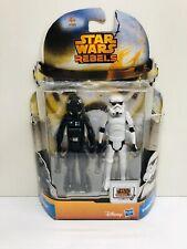 Star Wars Rebels TIE-Fighter Pilot & Stormtrooper Hasbro 3,75'' 1 Piece MOC