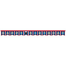 7.2ft Magician Magic Happy Birthday Party Large Letter Banner Party  Decoration