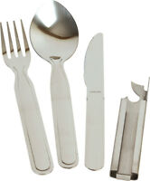 Stainless steel Military NATO KFS camping cutlery, ideal for cadets, scouts -New