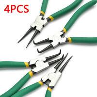 "Circlip Plier Set 6"" Snap Circlip Ring Pliers internal external 150MM uk"