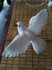 new simulation pigeons toy polyethylene&furs wings dove doll 32x23cm