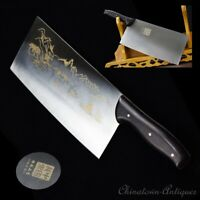 Chef slicer chip knife Authentic Longquan Kitchen Knife 5Cr15MOV Steel 600g#1226