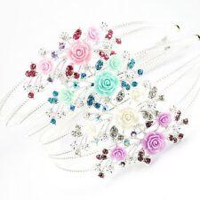 Diadèmes et bandeaux de mariée roses